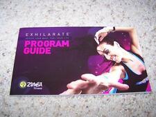 ZUMBA Fitness EXHILARATE Program Guide ONLY Workout Beto EUC