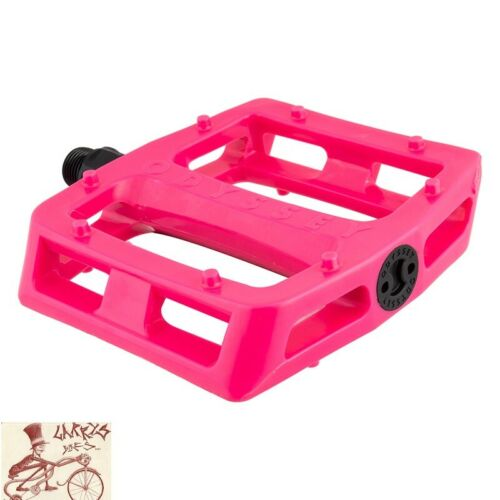 "ODYSSEY DUGAN Grandstand PC Rose Chaud 9//16/"" vélo pédales"