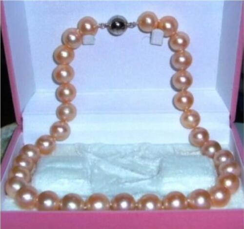 "Très belle AAA 7-8 mm South Sea Rose Naturel Collier De Perles 18/"""