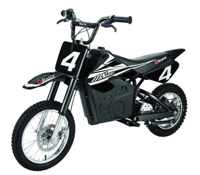 Razor Mx650 36v 17 Mph Electric Dirt Rocket Motor Bike Black For Sale Online Ebay