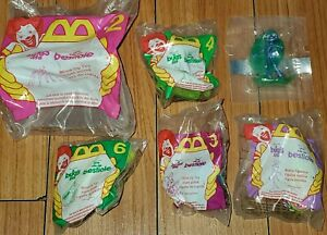 Lot-Of-6-Vintage-McDonald-039-s-Happy-Meal-Toys-Disney-A-Bug-039-s-Life-1998