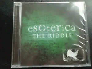 Esoterica-The-Riddle-CD-2010-alternative-rock-NUOVO-amp-OVP