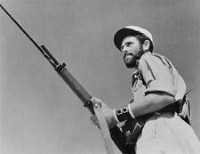 WW2 Photo WWII French Foreign Legionnaire with MAS 36 Rifle Libya 1942  / 1211