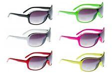 Mens Ladies Designer Pilot Wrap Visor Ski Sports Sunglasses Black White Green