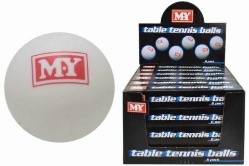 M.Y Table Tennis Balls Ping Pong White Sports Games Fun Bulk Buy  UK STOCK