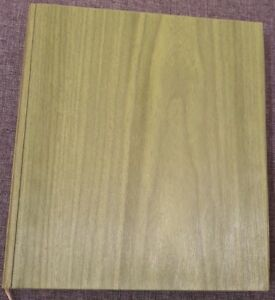 POEMA-O-DEREVE-Poem-about-a-tree-UNIQUE-book-Wooden-Hardback-1966