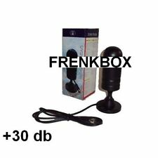 Antenna tv digitale terrestre per casa auto camper 30 db monitor portatile