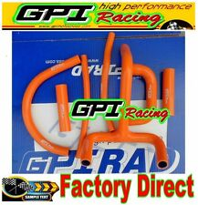 silicone radiator hose for KTM LC4 620 625 640 660 orange