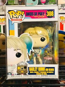 Funko Pop Heroes Birds Of Prey Harley Quinn And Beaver Vinyl Figure 44378 Ebay