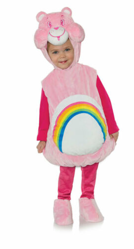 Underwraps Belly Babies Care Bears Cheer Infant Toddlers Halloween Costume 27600