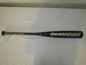 DeMarini-Voodoo-VDRV14-Senior-League-Bat-2-5-8-034-Baseball-READ