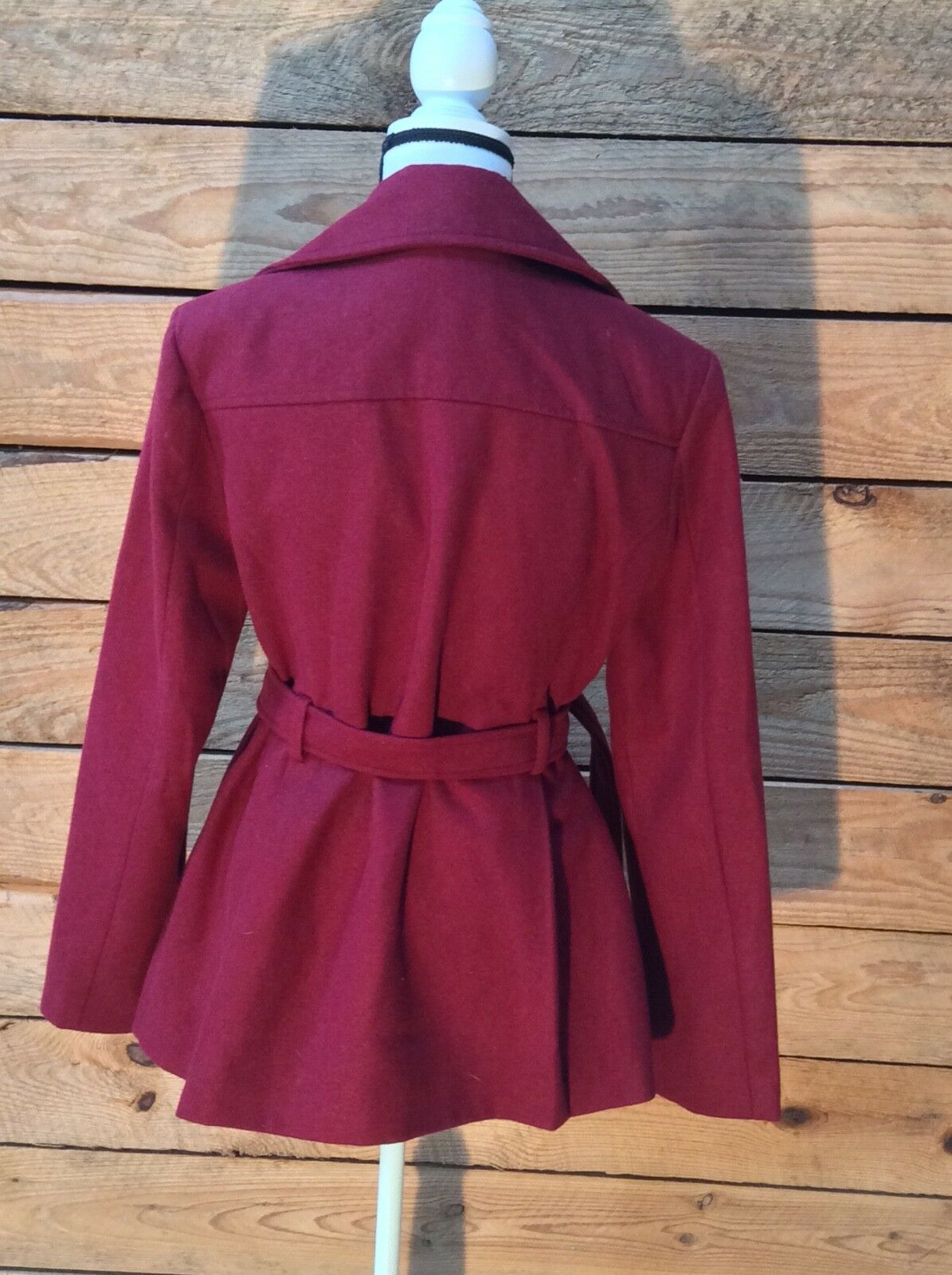 Vintage Women's Red Red Red Peacoat size L f9116e