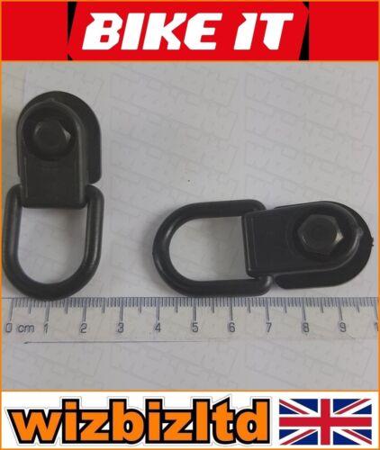 MotoBike Tie Down for Cargo Nets Bike-It Motorcycle Luggage Hooks LUGHOOK