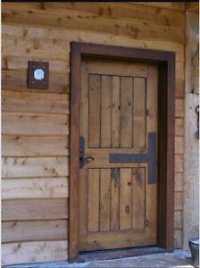 rustic entry door 42 x 80 ebay