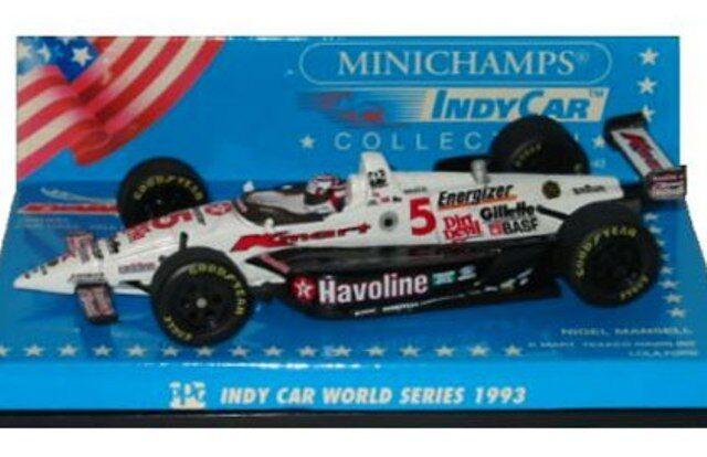 MINICHAMPS INDY CAR WORLD SERIES model cars Unser jr  Mansell Andretti 1993 1 43