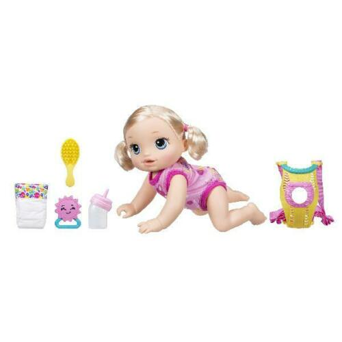 Baby Alive Baby Go Bye Bye-Blonde Hair Age 3 Up Toddler Interactive Toy Gift New