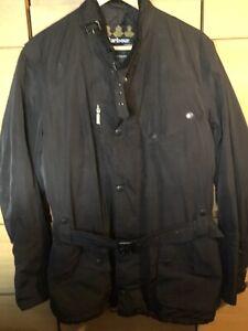 Barbour-Men-s-Black-Memory-Biker-Waterproof-Jacket-Large
