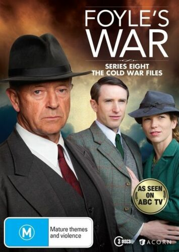 1 of 1 -  FOYLE'S WAR  : Series 8 :DVD - New & FREE POSTAGE