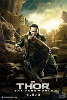 Thor Movie Poster : Loki : 11 X 17 Inches Tom Hiddleston Poster (dark World 1)