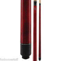 New MCDERMOTT LUCKY L5 RED Two-piece Billiard Table Pool Cue Stick & FREE CASE