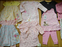 Amazingnew Bundle Outfits Bambi Minnie Baby Girl Clothes 3/6 Mths(2)nrb20