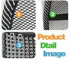 Black Mesh Lumbar Back Brace Support Cushion Cool for Office Home Car Seat Chair