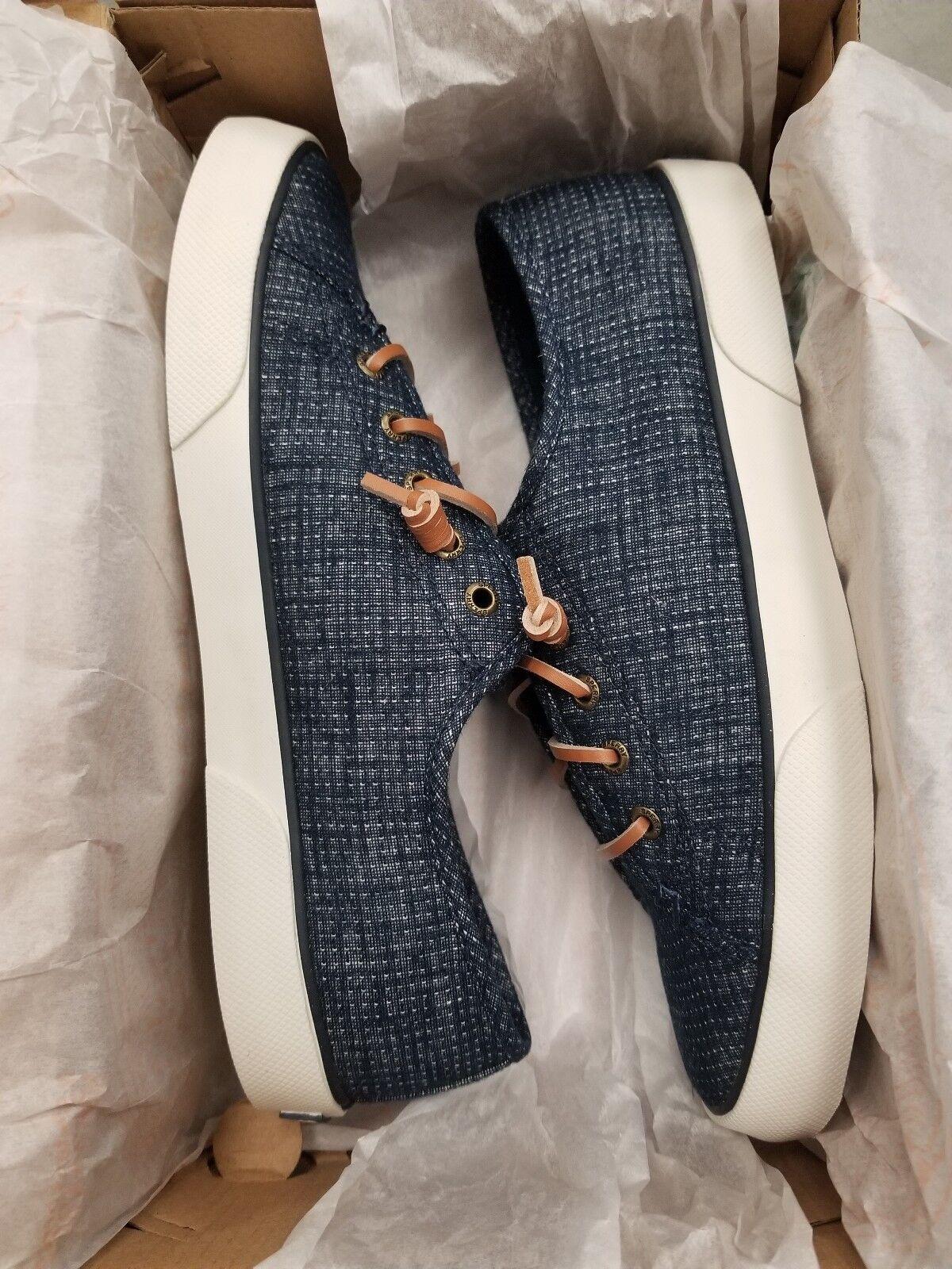 Sperry Top-Sider Pier Pier Pier ver tamaño  8.5M Color  Dos Tonos Zapatos Náuticos Azul Marino set1 de retorno  marca en liquidación de venta
