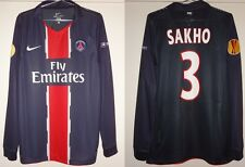 MAILLOT PRO PSG 2010/2011 SAKHO # 3 - PARIS SAINT GERMAIN - T. L - LIGUE EUROPA