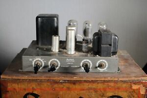 Vintage Heathkit Tube Amplifier Model A-9A