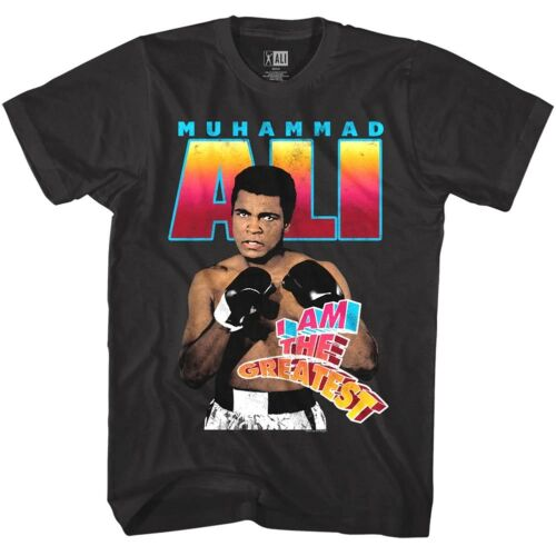 Muhammad Ali The Greatest Victory Mens T Shirt Black Boxing Fighter Legend Punch