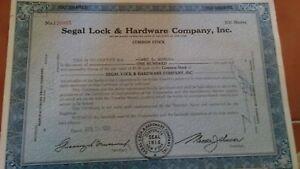 Belknap Hardware /& Manufacturing Company Stock Certificate Louisville Kentucky