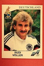 Panini EURO 92 N. 213 DEUTSCHLAND VOLLER NEW WITH BLACK BACK TOP MINT!!
