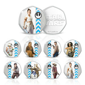 Star-Wars-Rise-of-Skywalker-Rey-Limited-Edition-Collectable-Coin-Bundle