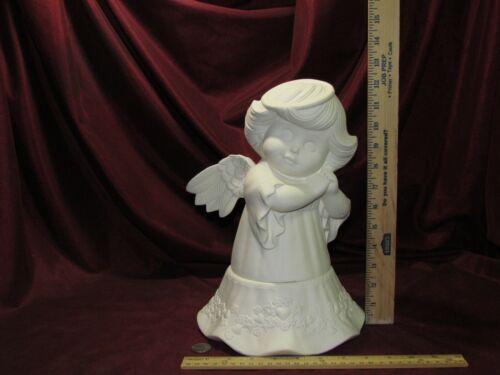 Ceramic Bisque Sweet Tot Angel ~ Faerie Cookie Jar ~ U-Paint
