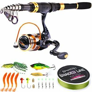 3c156dfebc9 Image is loading Fishing-Rod-Reel-Combos-Carbon-Fiber-Telescopic-Fishing-