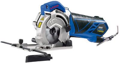 Draper 15098 Storm Force Laser Mini plongeant Circulaire Scie à 600 W 230 V NEUF