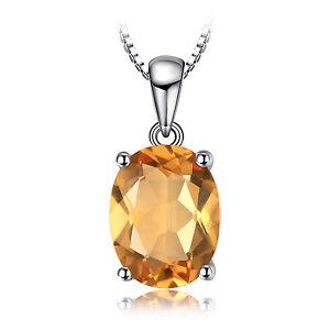 JewelryPalace-Neu1-7ct-Echte-Gelb-Citrine-925-Sterlingsilber-Anhaenger-Halskette