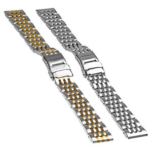 Image Is Loading Strapsco Stainless Steel Bracelet Watch Band Strap For