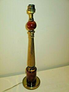 lampe-Maison-Jansen-en-laiton-et-backelite-couleur-de-l-039-ambre-1950-60