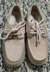 NEW-Sperry-Girls-Top-Sider-Intrepid-Linen-Pink-Size-1-5M-Casual-Shoes