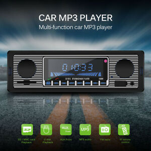 Auto Mp3 Bluetooth Player Drahtloser FM Transmitter Radio USB//SD Stereo AUX-IN