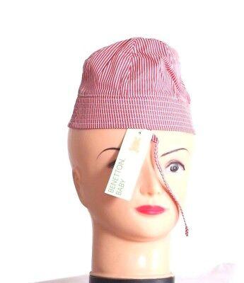Contemplativo Benetton Baby Girl's Cappelli E Berretti Protezione Dal Sole Cotone Circonferenza 6 Gwlb 41dq (20)-mostra Il Titolo Originale Piacevole Nel Dopo-Gusto