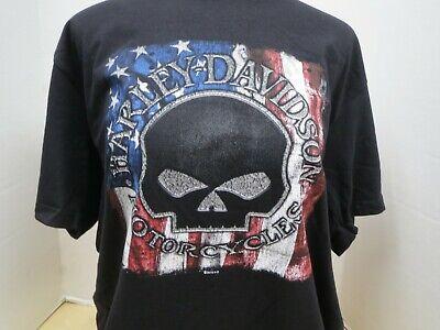 RN00524 Men/'s Harley-Davidson Proud One Short Sleeve Blue,100/% Cotton T-Shirt