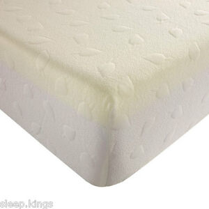4ft6 Double Memory Foam Mattress Maxicool Vacuum Pack Free