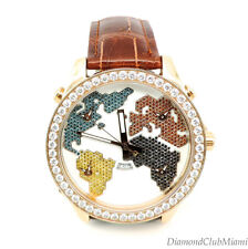 Jacob & Co. JC47 Five Time Zone 47mm 5.25ct 18kt Gold MSRP. $52,000.00