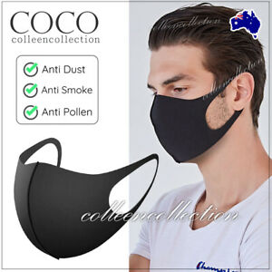 1/2/3/6/9Pcs Outdoor Unisex Mouth Face Cover Washable Reusable Mask Kid Adult