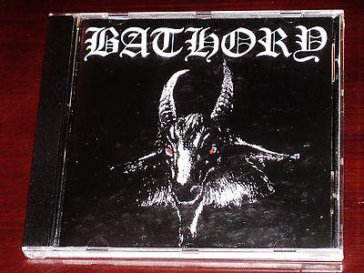 Bathory: S/T ST Self Titled Same CD 2003 Black Mark / Plastic Head UK BMCD666-1