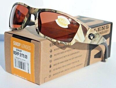 63f9f2ac70 COSTA DEL MAR Corbina 580 POLARIZED Sunglasses Mossy Oak Camo Copper 580P  NEW