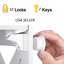miniature 1 - 10-30-PCS-Magnetic-Cabinet-Drawer-Cupboard-Lock-Kids-Baby-Safety-Child-Proof-Kit