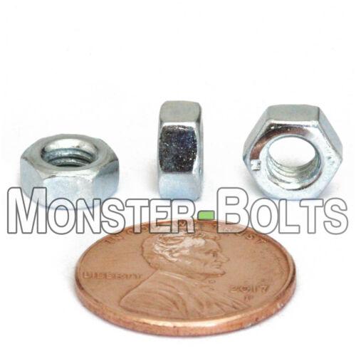 M5-0.8 Hex Nuts Class 10 Steel Zinc Plated CR+3 DIN 934 Heavy Duty 50 5mm